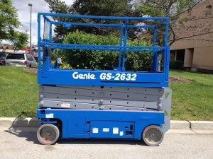 Genie Scissor Lift Sold By Above All Equipment Sales