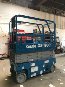 Genie Boom Lift By Above All Equipment