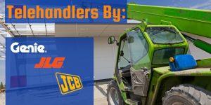 Above All Equipment Telehandler Specifications, Telehandlers by Genie, JLG, JCB