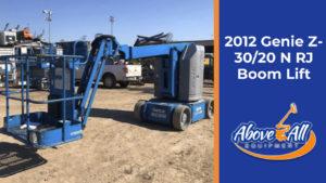 2012 Genie Z-30/20 N RJ Boom Lift for Sale