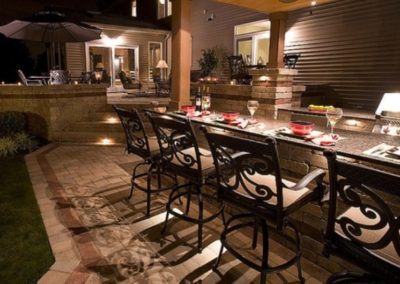S Woodland Road, Hunting Valley, Ohio – Host A Gala  Event On Your Swanky Paver Patio With Bar Seating And Outdoor Kitchen