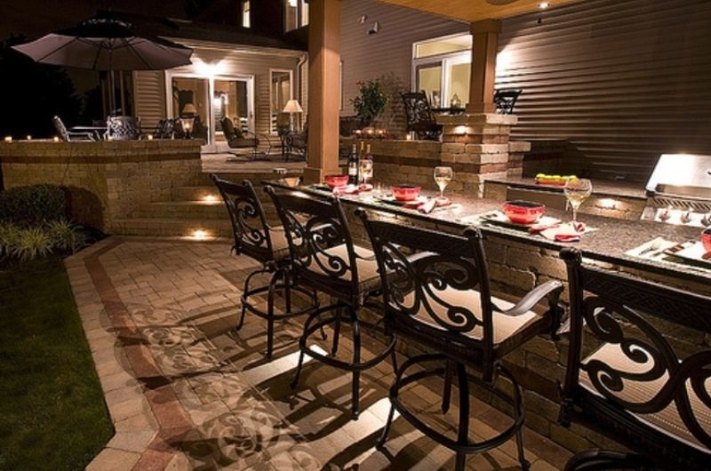 Outdoor Kitchen In Your Plans – Photos And Ideas