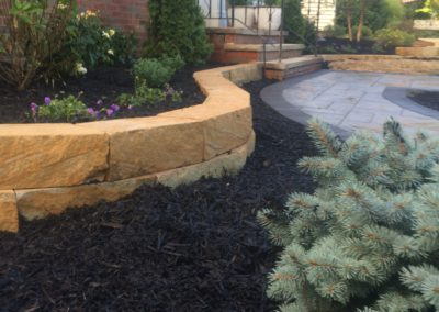 Northeast Ohio – Raise Your Flower Beds By Adding Low Retaining Walls