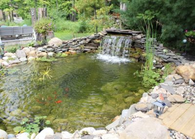 Bath, Ohio – Calming Waterfall With Pond