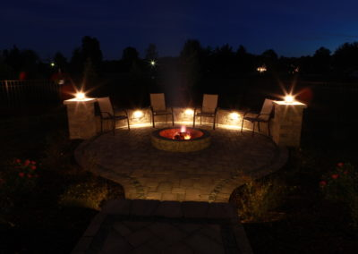 Brecksville, Ohio – Night Life On Your New Paver Patio