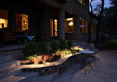 Simple Outdoor Lighting Baron Landscaping