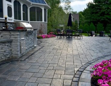 Maplecliff Dr., Avon Lake, Ohio – Outdoor Kitchen With Delightful Paver Patio