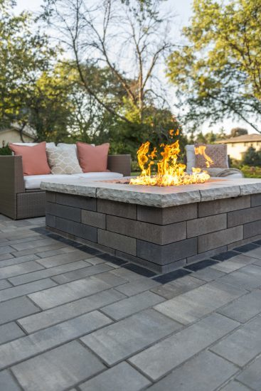Windrush Dr., Moreland Hills, Ohio – Cozy Contemporary Fire Pit
