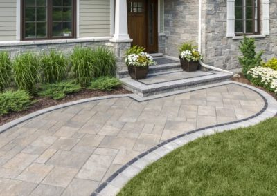 Independence, Ohio – Colored Trim with Walkway