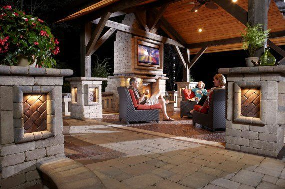 Hunting Valley, Ohio – Outdoor Living Room