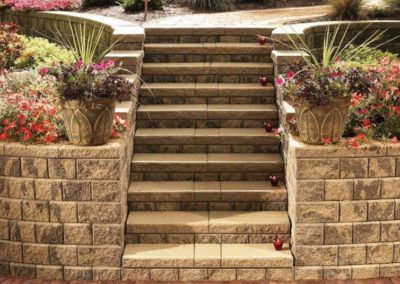 Bath, Ohio – Create a Dramatic Stairway On A Steep Slope