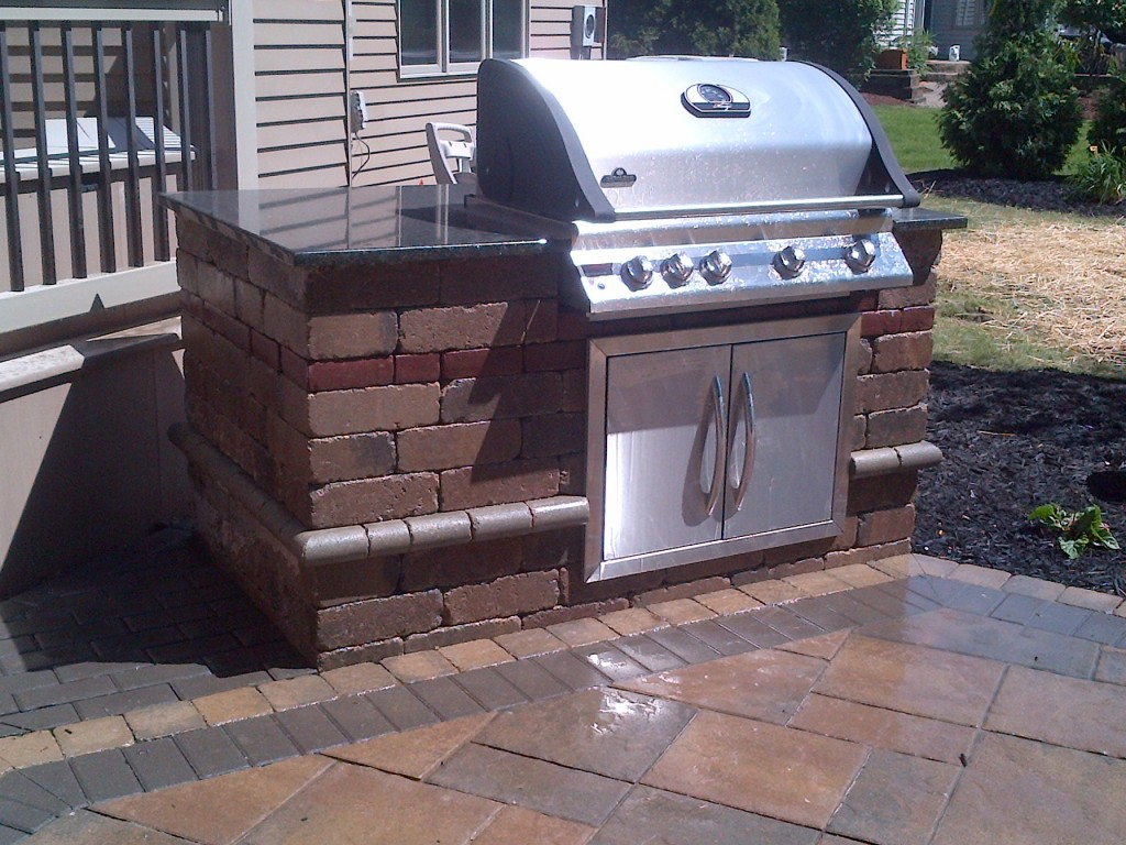 Outdoor Kitchen Grilling Station Contractor Baron