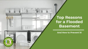 Top Reasons for a Flooded Basement