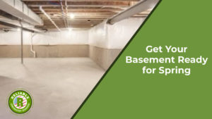 How to Get Your Basement Ready for Spring