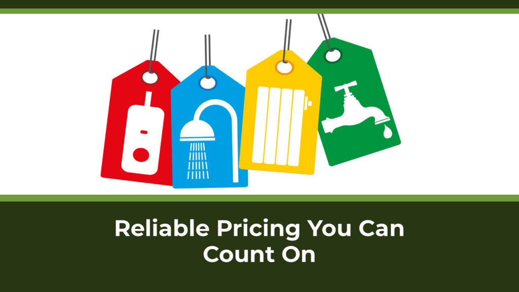 Reliable Pricing You Can Count On