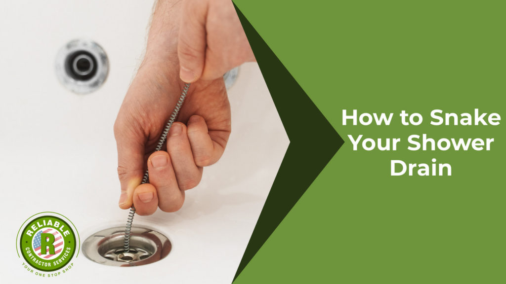 How to Snake Your Shower Drain